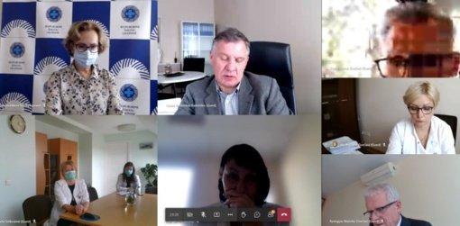 Šiaulių regiono pasitarime aptarta COVID-19 ligos situacija