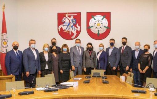 Alytaus miesto vadovai su ministre diskutavo apie iššūkius darbo rinkoje ir socialinėje srityje
