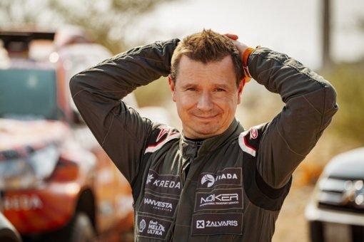 Antanas Juknevičius 2022-ųjų Dakare startuos nusiteikęs optimistiškai, nors ir ne viskas klostosi pagal planą