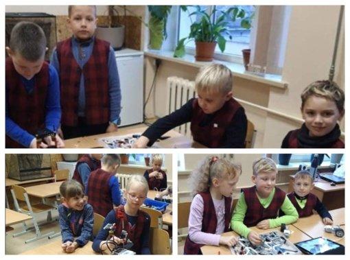 Mokiniai dalyvavo edukacinėje veikloje
