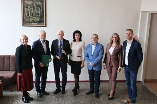 "Klaipėdos rajonui įteikta šeštoji ""Auksinė krivūlė"""