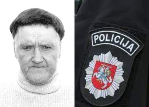 Švenčionių policija ieško be žinios dingusio vyro