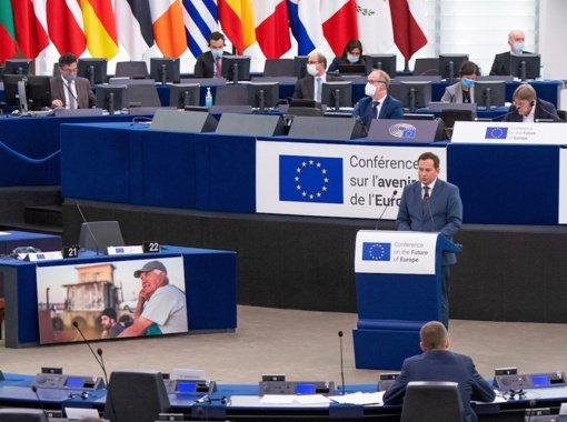 A. Pranckevičius: ES turi ryžtingiau ginti demokratijos vertybes pasaulyje