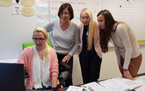 Mokytojų komandos stažuotė Estijoje