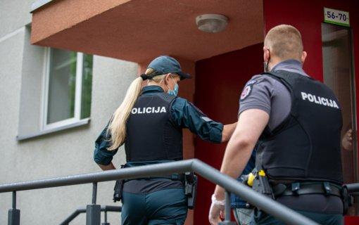 Klaipėdos apskrityje padėtis gerėja beveik visuose kriminogeniniuose židiniuose