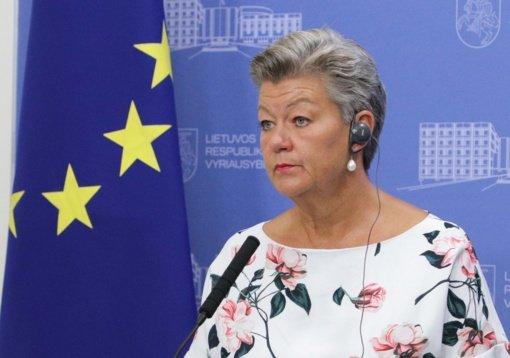 Eurokomisarė: pasienio barjerų finansavimui nepritaria didžioji dalis ES šalių