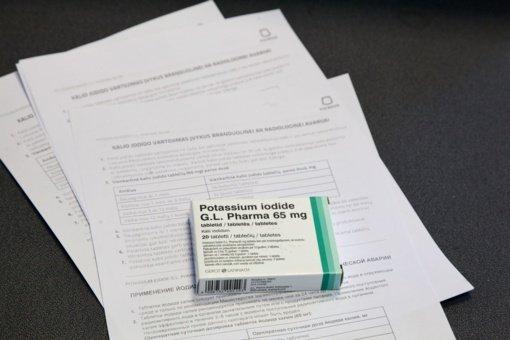 Studentams Vilniuje universitetai prevenciškai išdalins 48 tūkstančius jodo tablečių