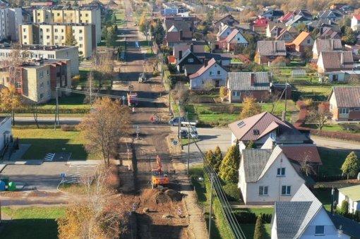 Ukmergiškiai turės šiuolaikiškai sutvarkytą ir patogią Linų gatvę
