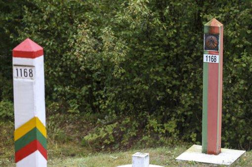 Pasienyje su Baltarusija nutiesta 60 kilometrų koncertinos