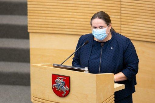 A. Širinskienė neatsisako ketinimo kreiptis į VTEK dėl Vyriausybės delegacijos pusryčių