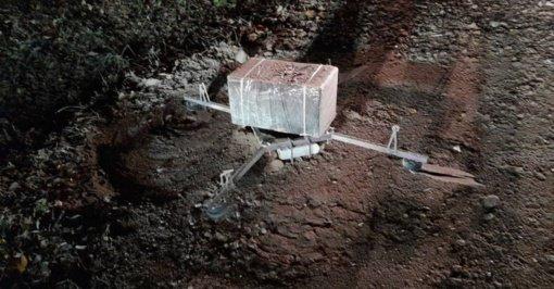 Pasieniečiai sulaikė baltarusiškų cigarečių krovinį skraidinusį droną