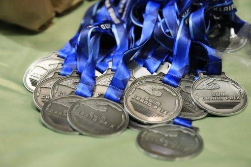 Su medaliais – iš Klaipėdos