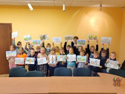 Vaikai spalvino Ignalinos kraštą