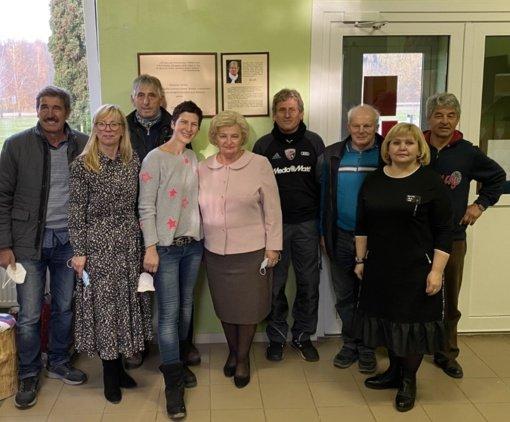 Želsvos progimnazijos bendruomenę aplankė bičiuliai iš Vokietijos