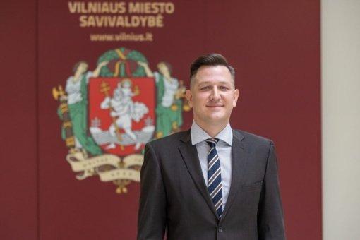 Prisiekė naujas sostinės Tarybos narys Mantas Stulgaitis