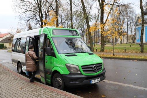 Švenčių dienomis keisis autobusų tvarkaraštis