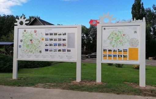 Radviliškio mieste ir rajone – nauji turizmo informacijos stendai