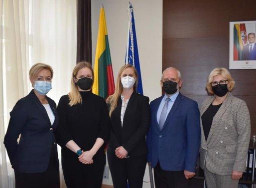 Susitikimuose su JAV ambasados atstovais žvelgta į ateitį
