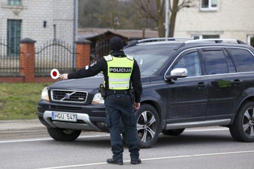 Ilgąjį savaitgalį bus stiprinamos policijos pajėgos