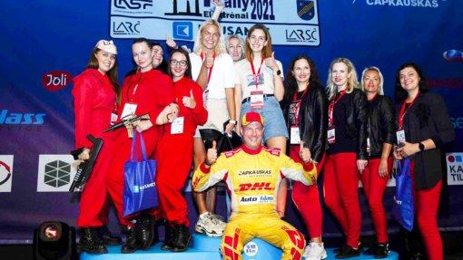 Ladies Go sezoną užbaigs Vilniuje, kartu su ralio čempionais