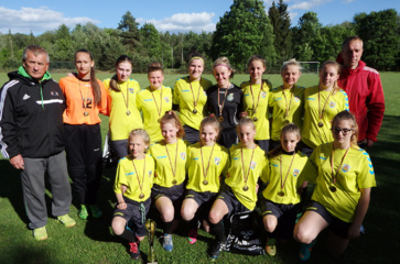 Tapo Lietuvos futbolo čempionėmis