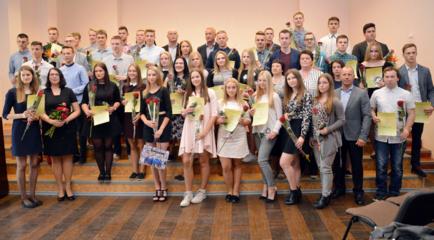 Sporto centras išlydėjo absolventus