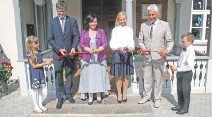 Rugsėjį meno mokyklos bendruomenė pasitinka naujame pastate