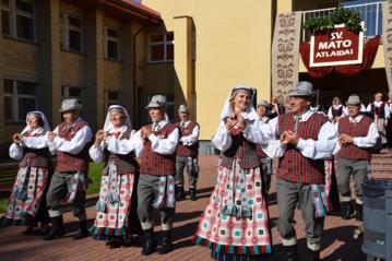 Krosnoje vyko Šv. Mato atlaidų šventė