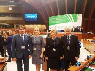 E. Rudelienė plenarinėje sesijoje Strasbūre