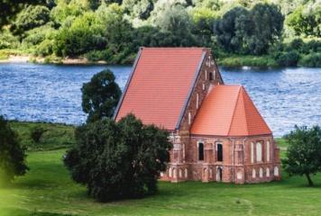 Pradėta tvarkyti Zapyškio Šv. Jono Krikštytojo bažnyčia