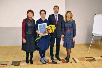 Asta Kriščiūnaitė– UNESCO Šiaulių klubo premijos laureatė