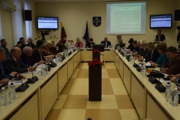 Tarybos posėdyje apsvarstyti 28 klausimai