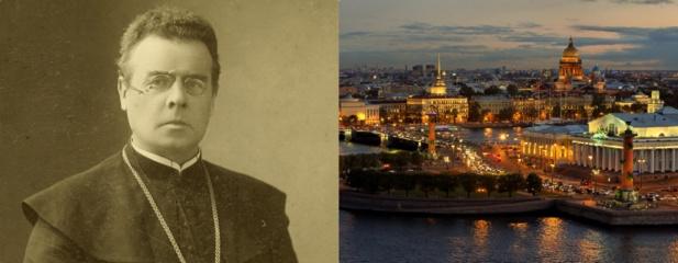 Sankt Peterburge bus iškilmingai pašventinta atminimo lenta Maironiui