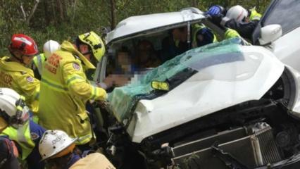 Australijoje nuojautos vedamas tėvas surado dingusį sužeistą savo sūnų
