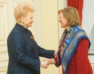 D. Grybauskaitė: Lietuvos užsienio politika tampa globali