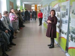 Muziejus atvyko į Tverų gimnaziją