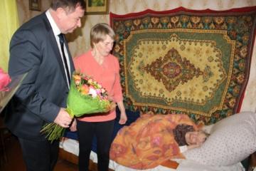 Pasveikinta 103 metų sulaukusi senolė