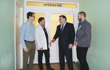 Lazdijų ligoninėje – operacijos pažangiausiomis pasaulyje technologijomis