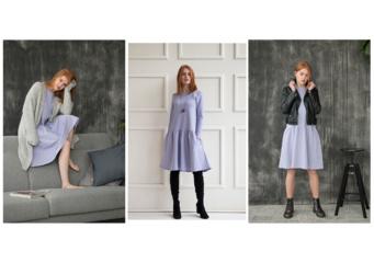Kai pritrūksta idėjų: viena suknelė – trys skirtingi deriniai pavasariui