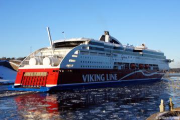 Baltijos jūroje - pirmasis pasaulyje vėjo energija varomas keleivinis keltas
