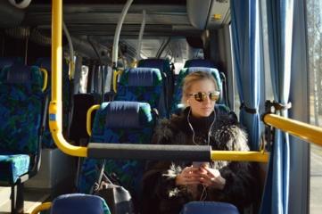 Diena be automobilio, bet su nemokamu viešuoju transportu