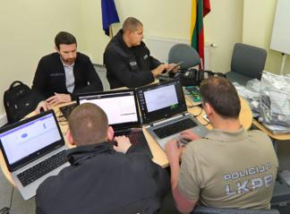 Išskaidyta viena pavojingiausių gaujų ne tik Lietuvoje, bet ir Europoje