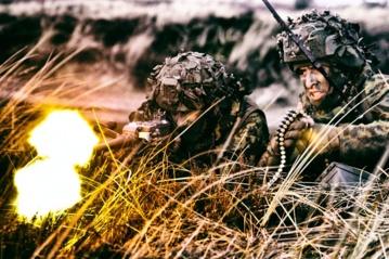 Algirdo bataliono kariai  išvyko į JK vadovaujamų Jungtinių ekspedicinių pajėgų pratybas