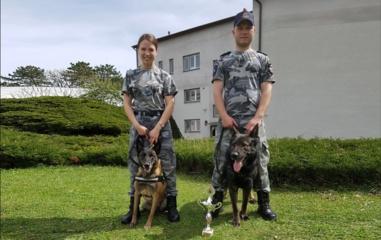 Čempionatas Čekijoje motyvavo policijos kinologę dar labiau gilintis į savo veiklą