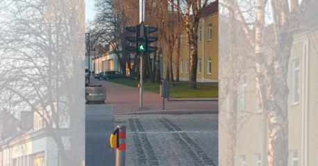 Pusvalandį neveiks Vilkaviškio g. pėsčiųjų perėjos šviesoforas