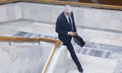 Žemės ūkio ministras – B. Markauskas traukiasi