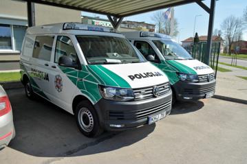 Rajono policijai – du nauji automobiliai