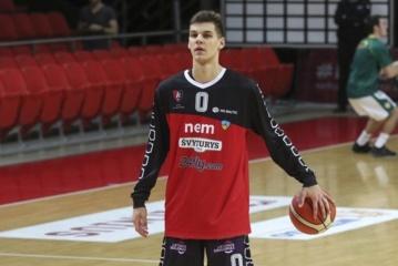 Eurolygos jaunimo pirmenybių čempionu bei MVP tapęs D. Sirvydis: emocijos neapsakomos