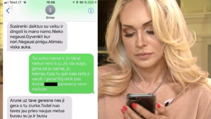 Simo Jasaičio advokatas neigia, kad Oksanos Pikul paviešintas skandalingas žinutes rašė Simas