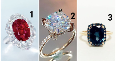 Išsirinkite gražiausią žiedą ir jis atskleis jūsų gyvenimo būdą